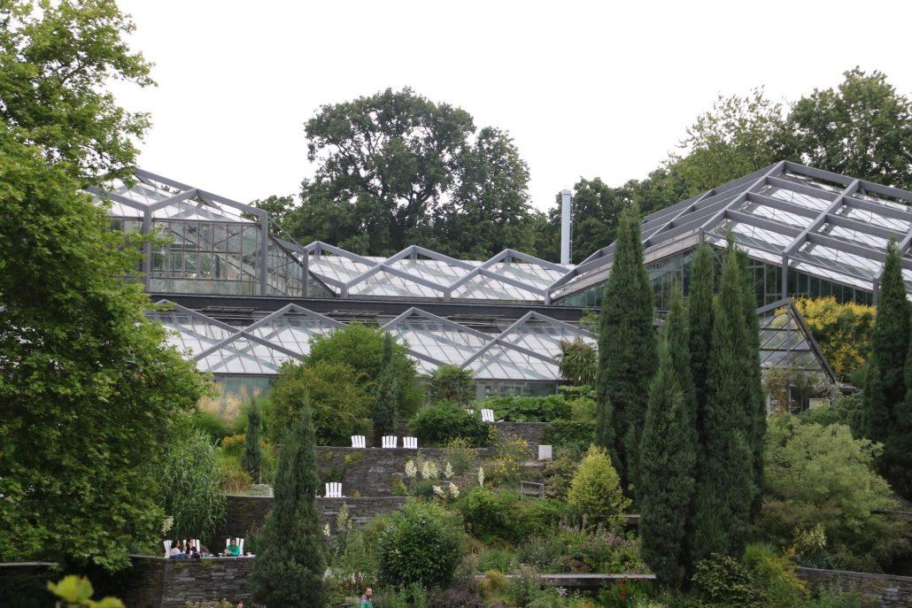 Gewächshäuser in Planten un Blomen Hamburg