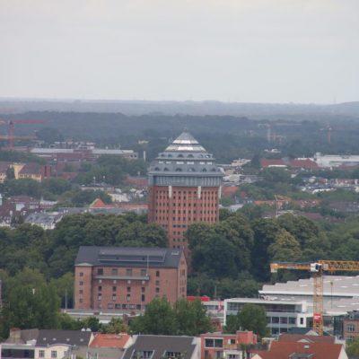 Aussicht auf das Hotel Mövenpick Hamburg