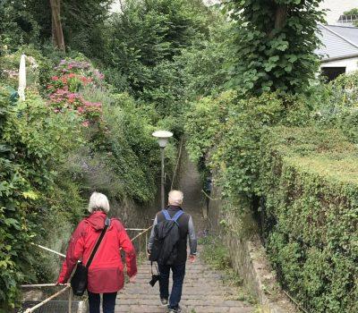 Auf dem Weg in Richtung Elbe
