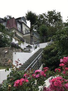 Vorgarten im Treppenviertel Blankenese