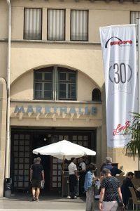 Eingang zur Stuttgarter Markthalle