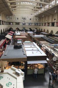 Überblick über die Stuttgarter Markthalle