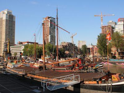 Museumshafen in Rotterdam, Holland