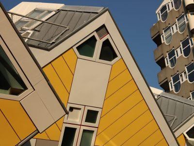 Bleistift und Kubus, Rotterdam