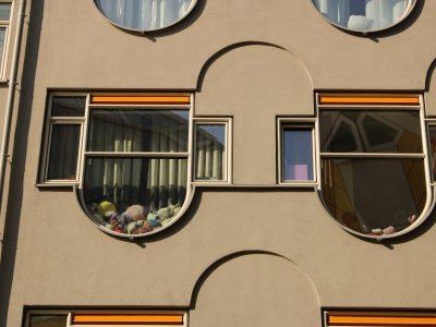 """Fensterbank"" im Blaaktower, Rotterdam"