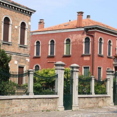Häuser auf Murano