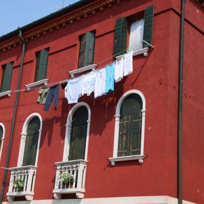 Waschtag auf Murano