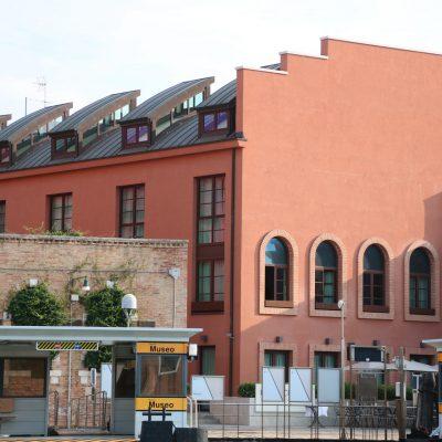 Vaporetto-Station in Murano