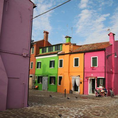 farbenfrohe Idylle in Burano
