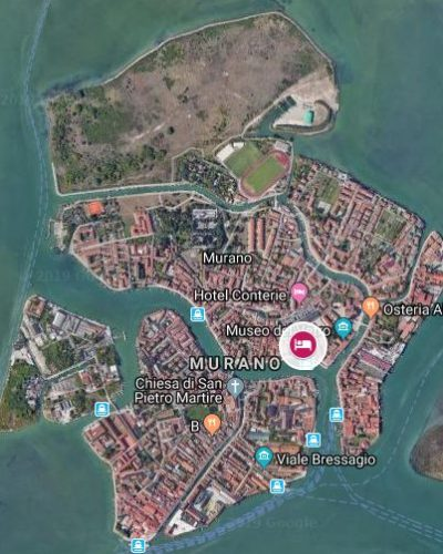 Karte Murano