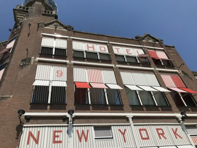 Hotel New York in Rotterdam Kop van Zuid