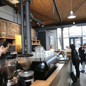 Café Elbgold von innen