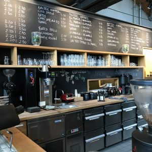 Auswahl im Café Elbgold
