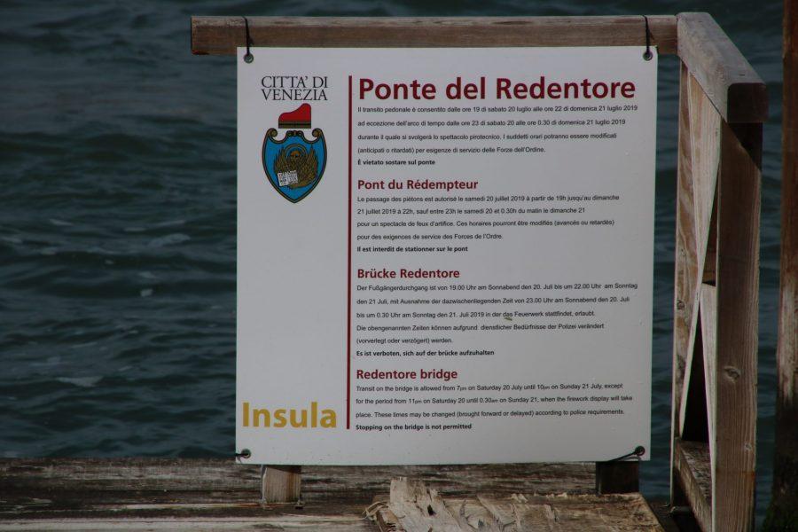 Ponte del Redentore Venedig