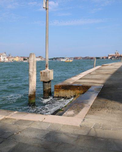 Giudecca-Kanal gegenüber von Dorsoduro Venedig