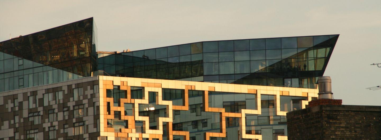 moderne Architektur in Birmingham