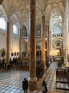 Hofkirche Innsbruck von innen