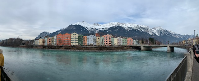 Innsbruck Panorama am Inn