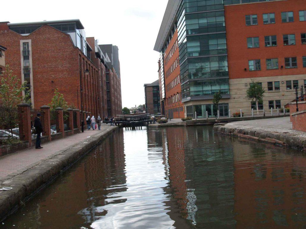 Kanal durch Manchester