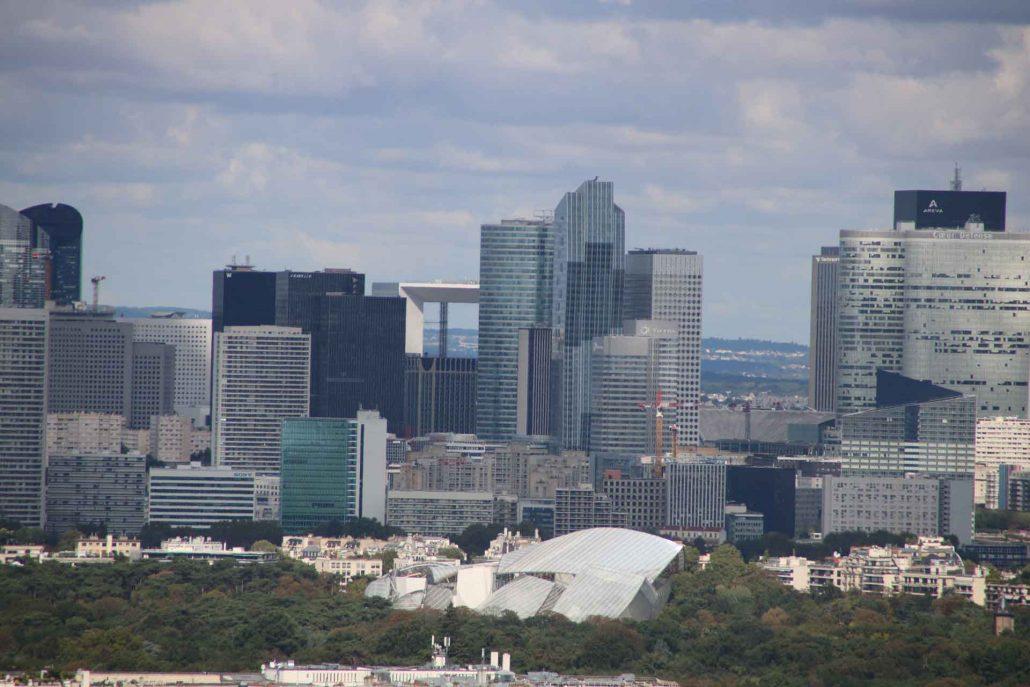 Blick auf La Defense Paris