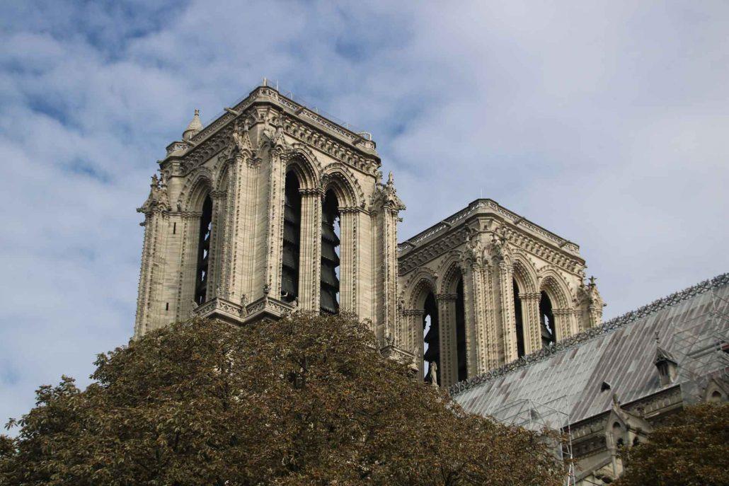 Paris Türme von Notre Dame
