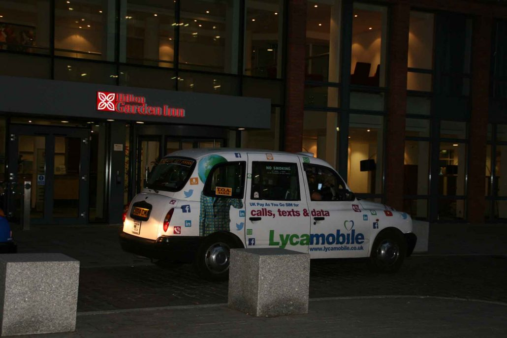 buntes Taxi in Birmingham