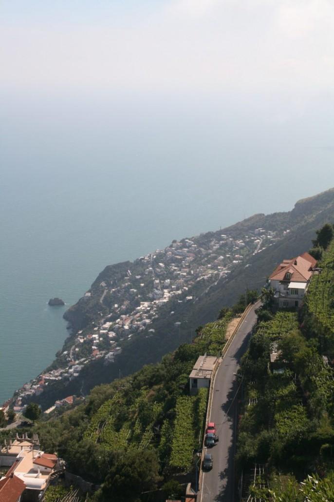 Auf der Amalfitana auf dem Weg nach Amalfi