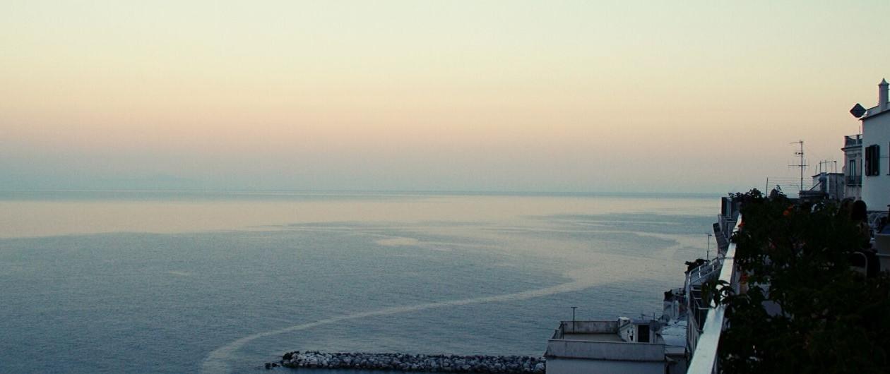 Amalfiküste Italien Blick aufs Meer