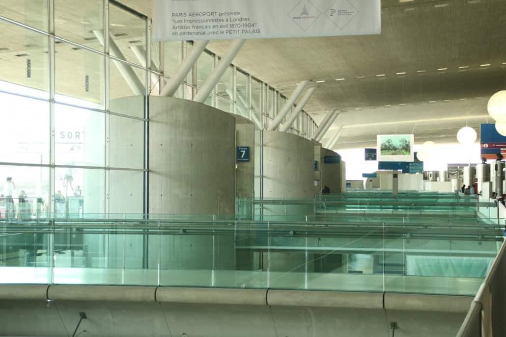 Terminal Flughafen Paris Charles de Gaulle
