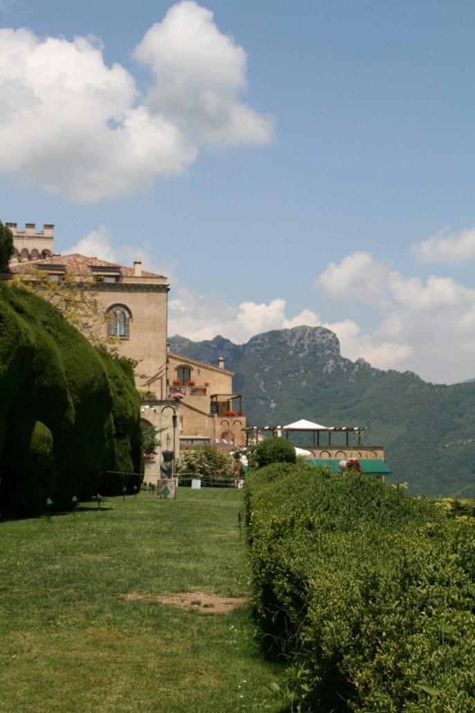 Luxushotel Villa Cimbrone mit Garten