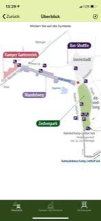 Landesgartenschau Plan in der App