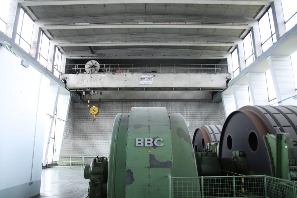 Maschinenhalle von Förderturm 2