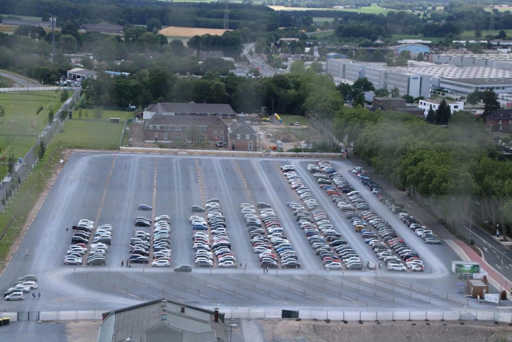 Parkplätze der Landesgartenschau