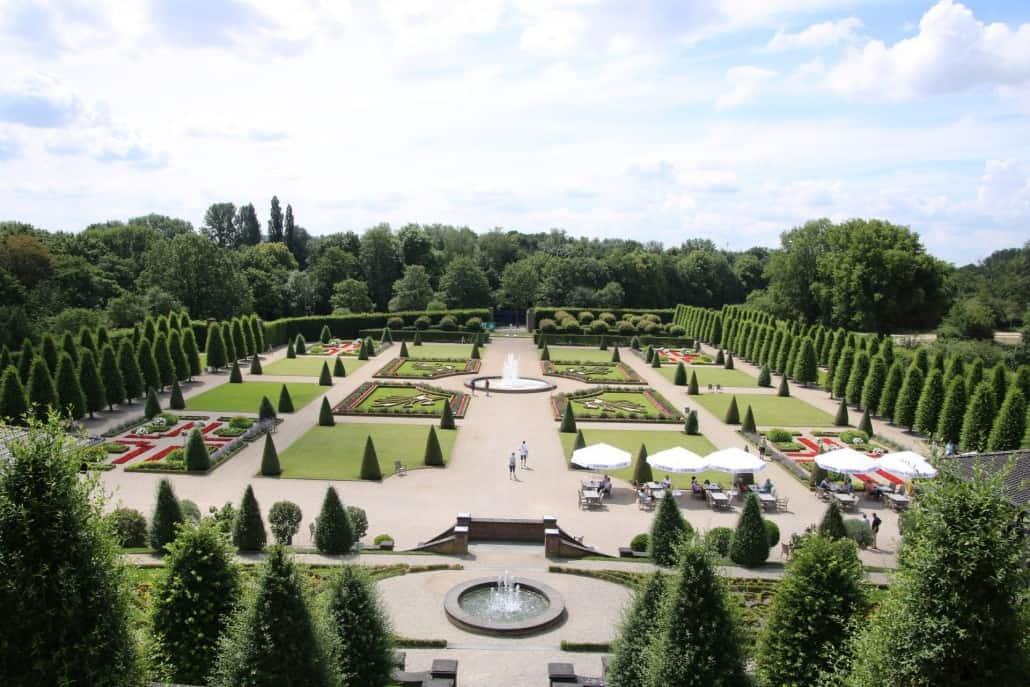 französischer Garten von Kloster Kamp