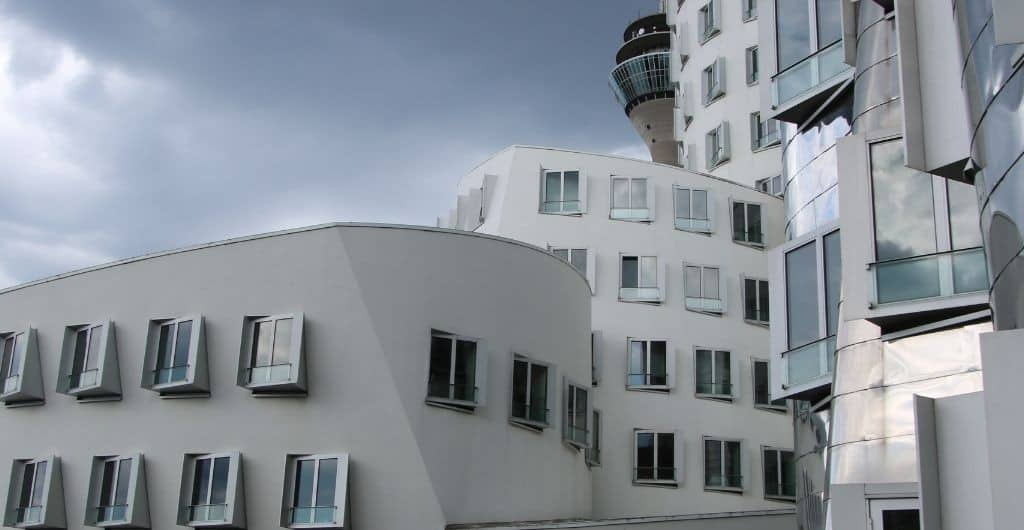 Rheinturm und Medienhafen Düsseldorf