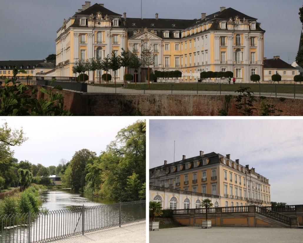 Ansicht von Schloss Augustusburg in Brühl, Erftkreis