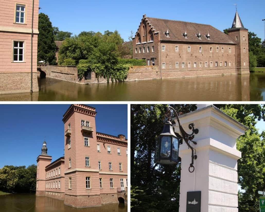 Fotos vom Wasserschloss Gracht im Erftkreis