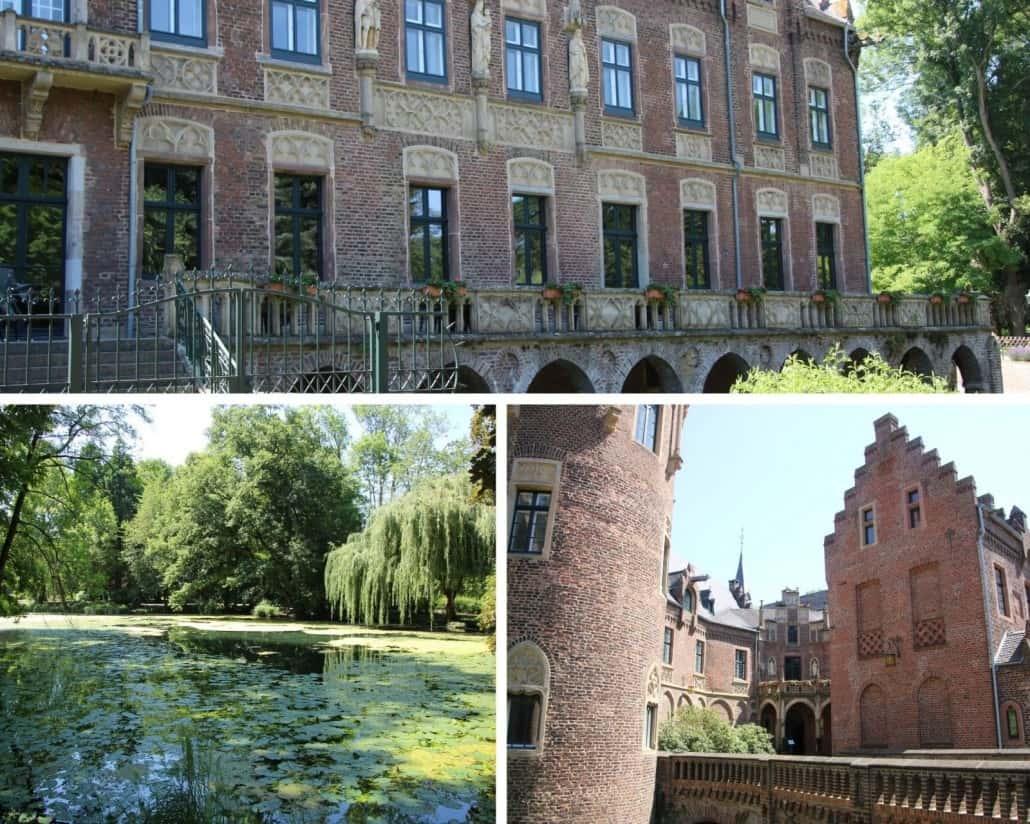Schloss Paffendorf und Schlosspark im Erftkreis