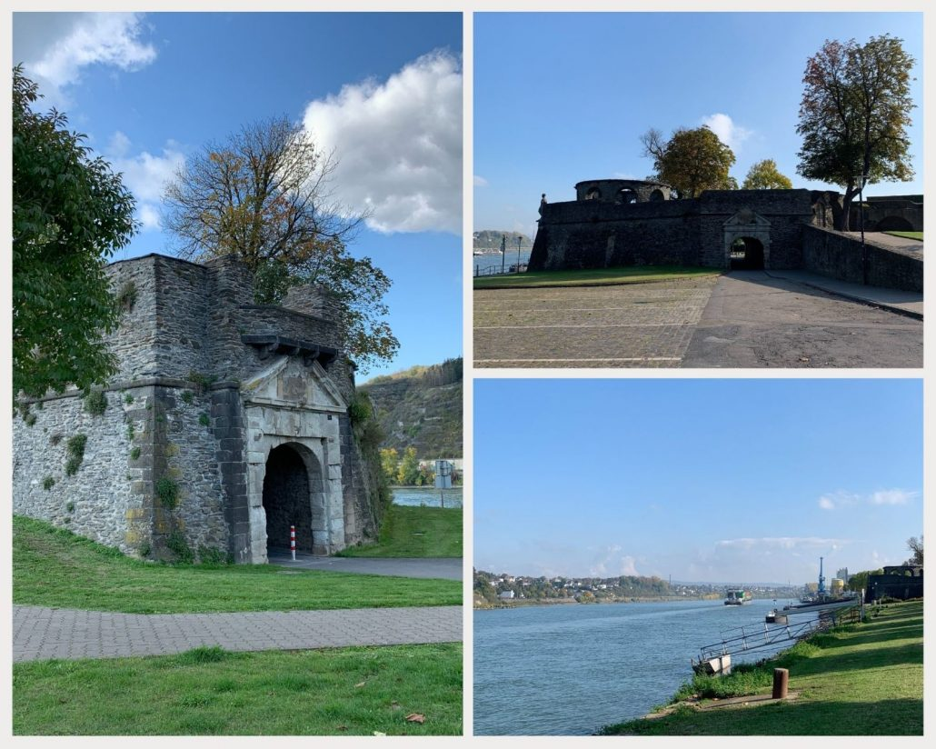 Bollwerk in Andernach - ehemalige Rheinzollbastion zur Überwachung des Schiffsverkehrs