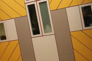 ein weiteres Foto von den gelben Häusern
