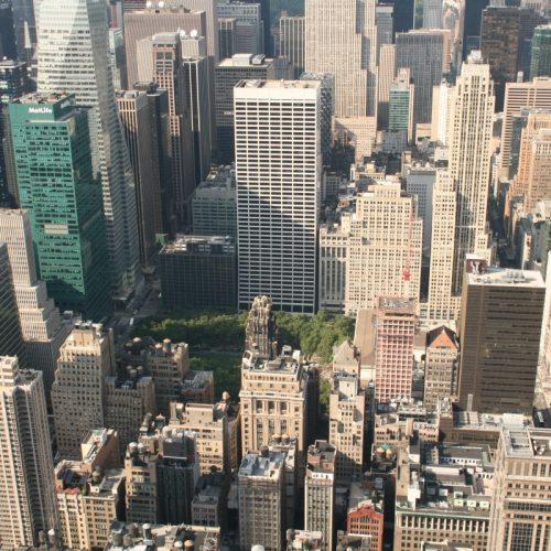 Straßen-Wirrwarr Manhattan