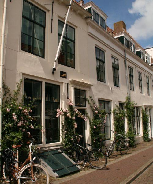 Häuserfassaden in Middelburg